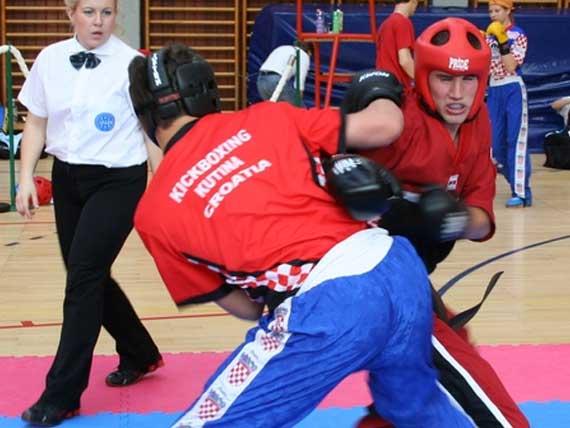 KBK Kutina na Svjetskom kickboxing kupu u Mađarskoj