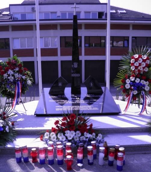 Spomenik poginulim i preminulim kutinskim policajcima