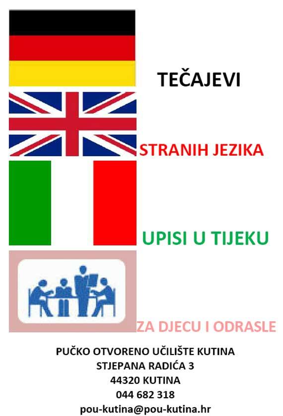 POU sakuplja zainteresirane za tečajeve stranih jezika
