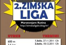 U nedjelju u 12 sati 2. kolo 2. zimske lige Maratonjara