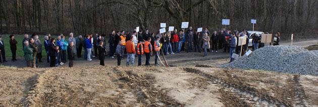 Prosvjed u Kutinskoj Slatini, sedamdesetak mještana protiv pozicije VIP-ovog repetitora