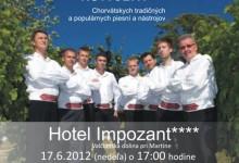Klapa Škrlet na turneji u Slovačkoj