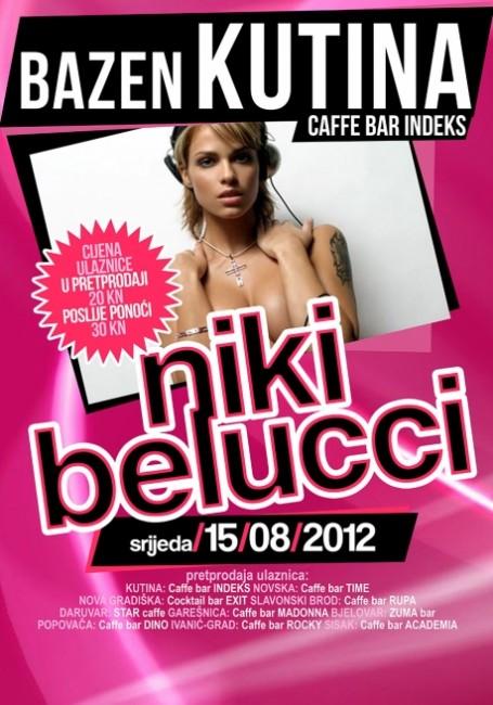Večeras na bazenu: ★★ NIKI BELUCCI (Playboy girl, Hungary) ★★