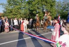 Svečano otvorenje obnovljene županijske ceste na dionici Kutina-Banova Jaruga