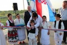 Svečano otvoren most u Janja Lipi
