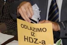 Nezadovoljni članovi HDZ-a: Odlazimo iz HDZ-a