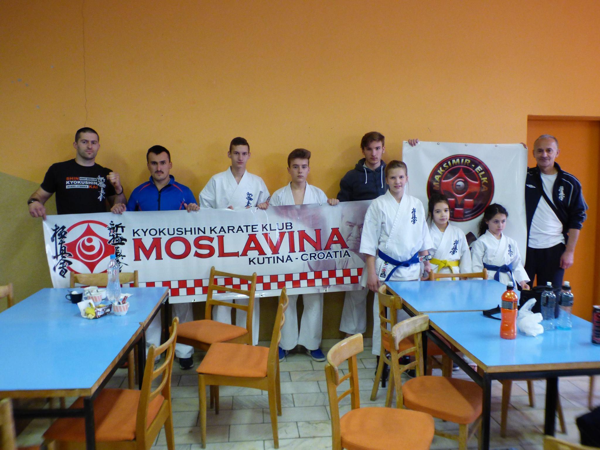 Karate klub Moslavina odličan na Otvorenom prvenstvu Slovačke
