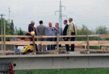 Radove na mostu posjetio gradonačelnik Rudić – završetak 25. svibnja