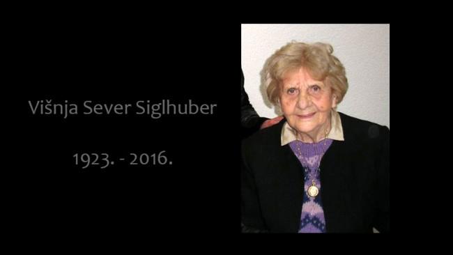 Preminula Višnja Sever