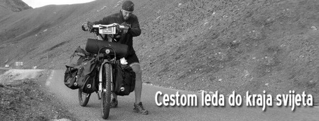 Hrvoje Jurić, pustolov na biciklu večeras u Kutini