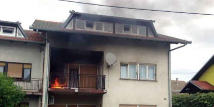 Jučerašnji požar izazvao je opušak
