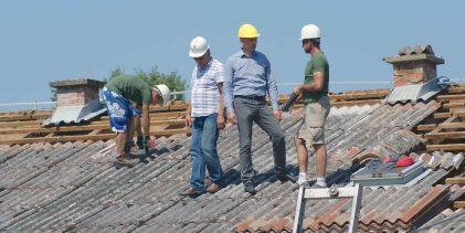 Novi krov na područnoj školi u Jamaricama
