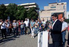 U društvu gradonačelnika Rudića Zoran Milanović i kandidati VI. izborne jedinice Narodne koalicije jučer posjetili Kutinu