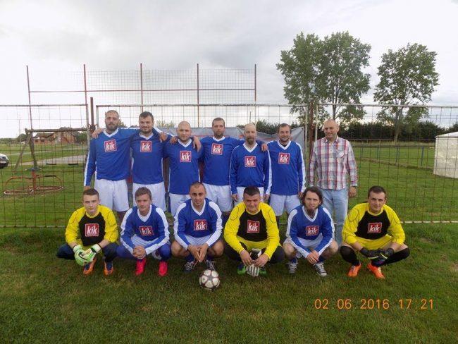 Nogometaši Krča ponosni jer igraju u KIK-ovim dresovima