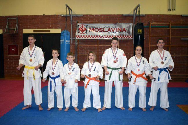 Uspjeh Karate kluba Moslavina na Prvenstvu Hrvatske