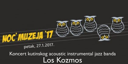 Video: Noć Muzeja – Koncert Los Kozmos – cijela snimka