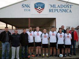 NK Mladost iz Repušnice zahvaljuje se KIK-u na donaciji dresova