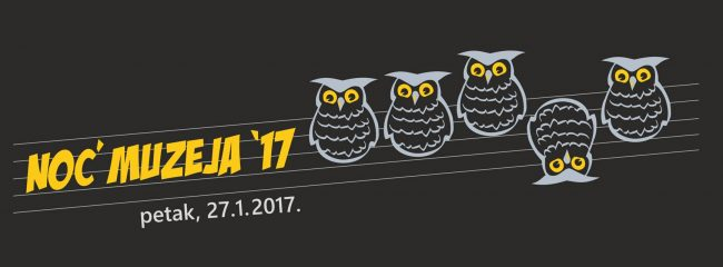 Sutra Noć Muzeja 27. 1. 2017. – Program Muzeja Moslavine Kutina