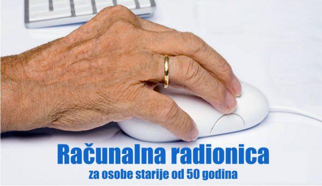 Besplatne računalne radionice za osobe starije od 50 godina